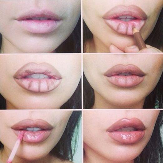 Você não precisa fazer preenchimento labial para ter os lábios bonitos e volumosos, você só precisa apender algumas dicas que vão te ajudar a deixar os seus lábios incríveis e o melhor é que você não vai gastar nada com isso. A partir de agora você vai poder deixar as suas maquiagens mais bonitas e o batom vai ficar ainda mais incrível em você. Siga esses passos e você terá um resultado perfeito. #maquiagem #makeup #tips #lips #make #dicas #beleza #labio #beauty #woman #girls