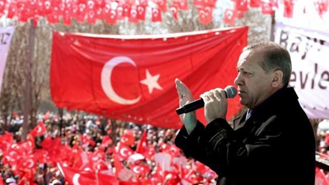 Erdogan Tegaskan Tak Ada yang Bisa Mengubah Turki Jadi 'Halaman Belakangnya'