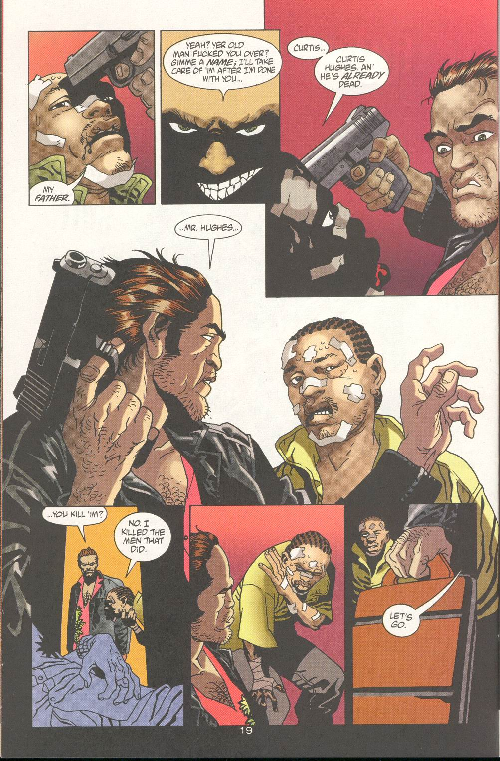 Read online 100 Bullets comic -  Issue #19 - 21