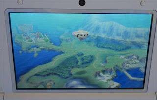 ドラゴンクエスト7 飛空石から見た時のエスタード島