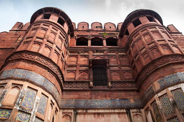 Muralla Fuerte de Agra
