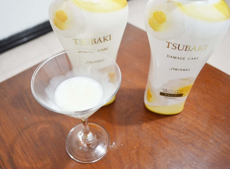 Tsubaki Shiseido Damage Care Shampoo and Conditioner review