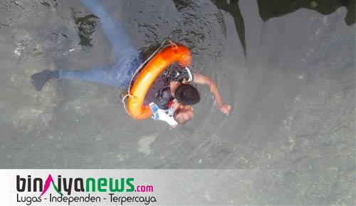ABK berenang menyelamatkan anak kecil