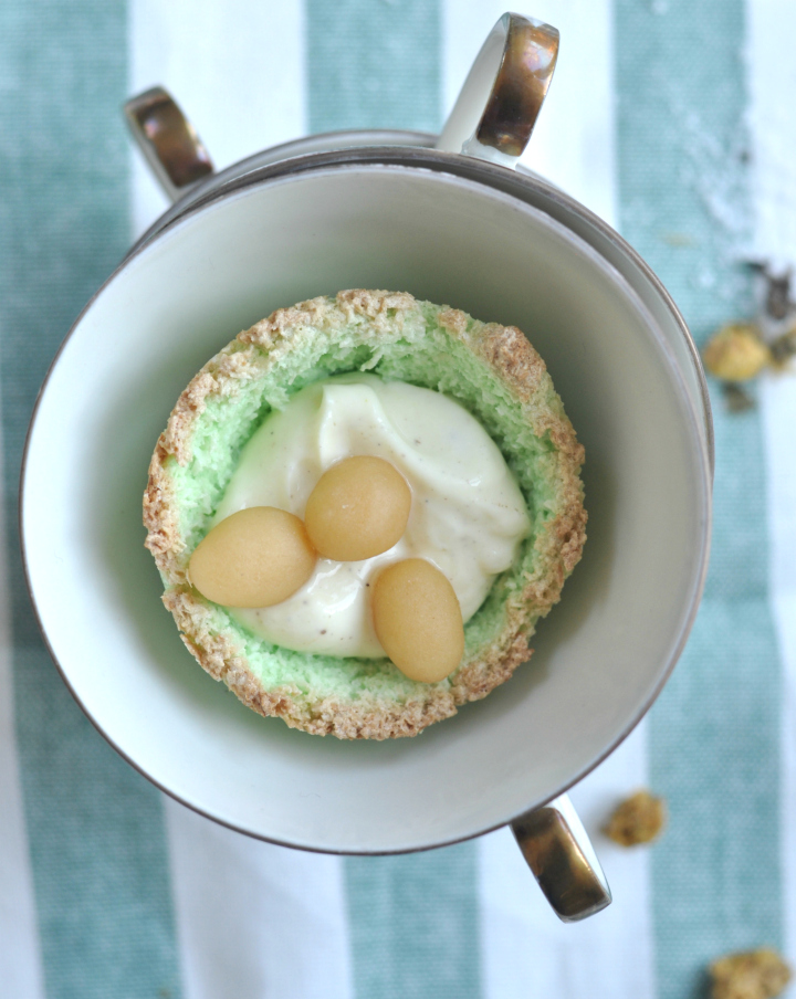 glutenfree Coconut Easter Baskets, ready in just a few minutes