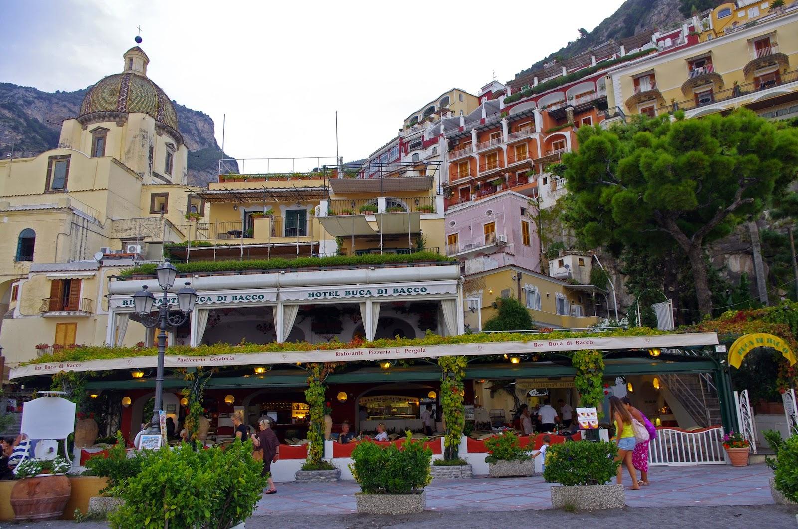 Beachfront Italian Luxury At Buca Di Bacco Positano The