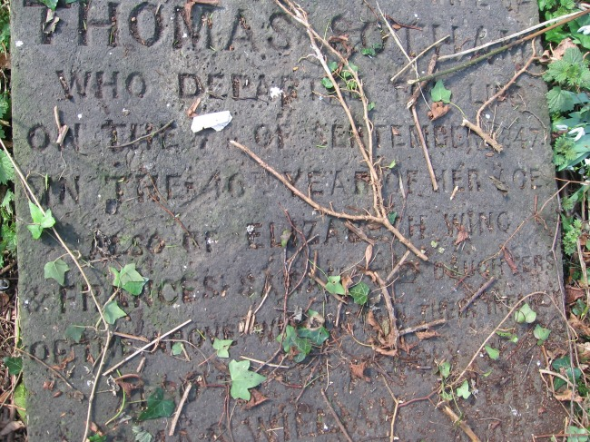 headstone-part-with-incription-Thomas-Sotham-who-departed-this-life-ivy-covers-lots-of-words-Wootton-near-Woodstock-Oxfordshire