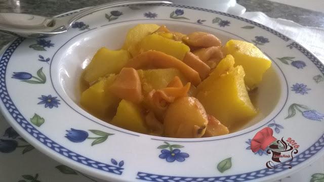 Patatas con Chocos