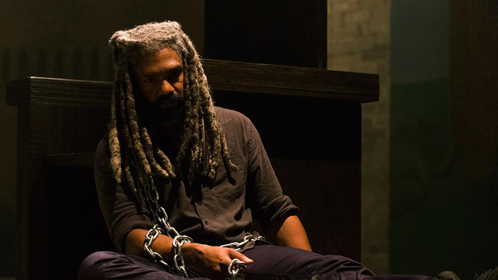 Ezekiel en el episodio 8x08 de The Walking Dead