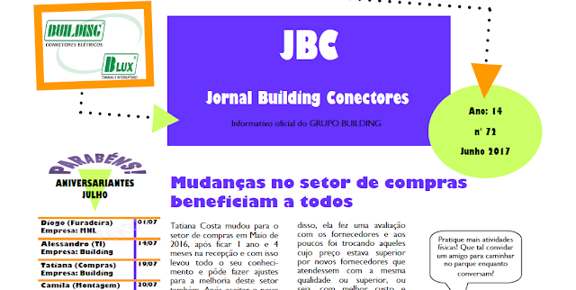 JBC: Edição de Junho 2017