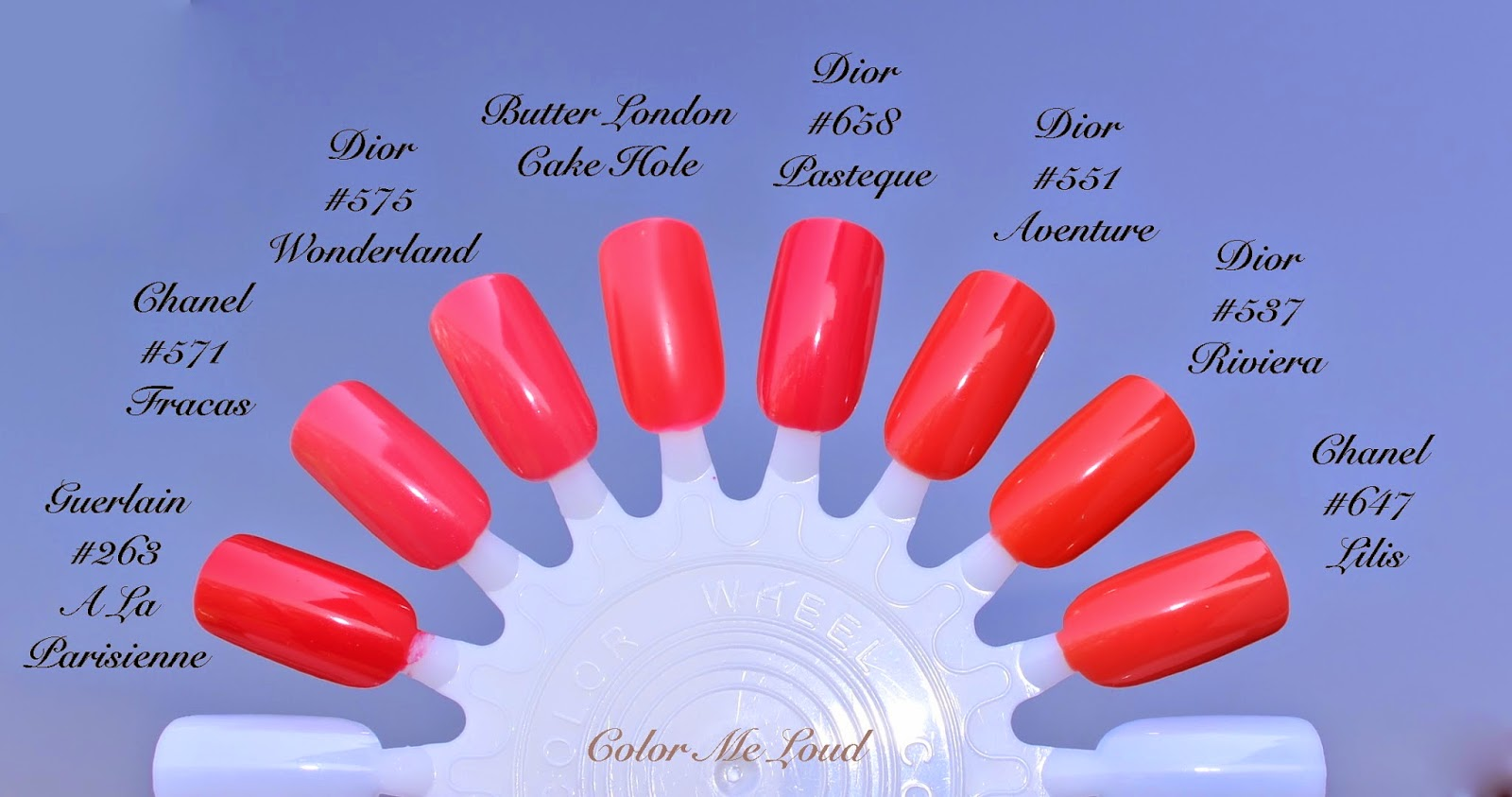 Dior Vernis 575 Wonderland 551 Aventure 338 Mirage 853 Massai And 918 Hypnotic Couture