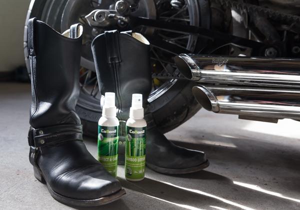collonil puhdistussuihke suojasuihke nahkakenkien suojaus kosteussuoja saappaiden puhdistus_