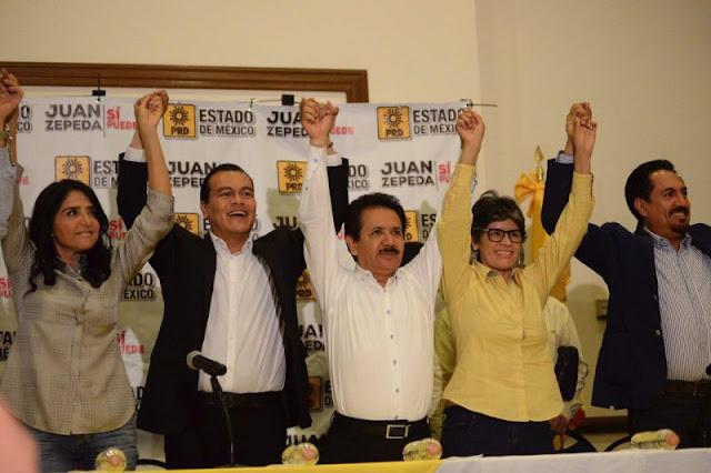 Juan Zepeda anuncia que impugnará triunfo de Del Mazo; Apenas se dio cuenta que fue elección de estado, Acusa.