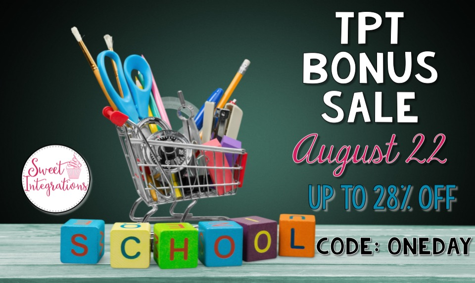 Join the fun for our TPT one day sale. I've given 8 reasons to purchase from my store.