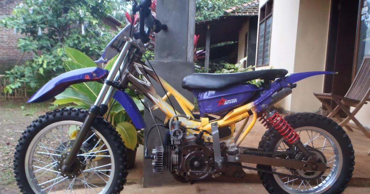 foto modifikasi motor bebek jadi trail modifikasi yamah nmax