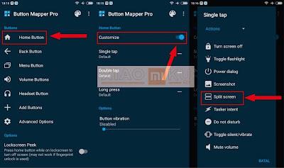 cara split screen xiaomi dengan aplikasi button mapper - steps 4