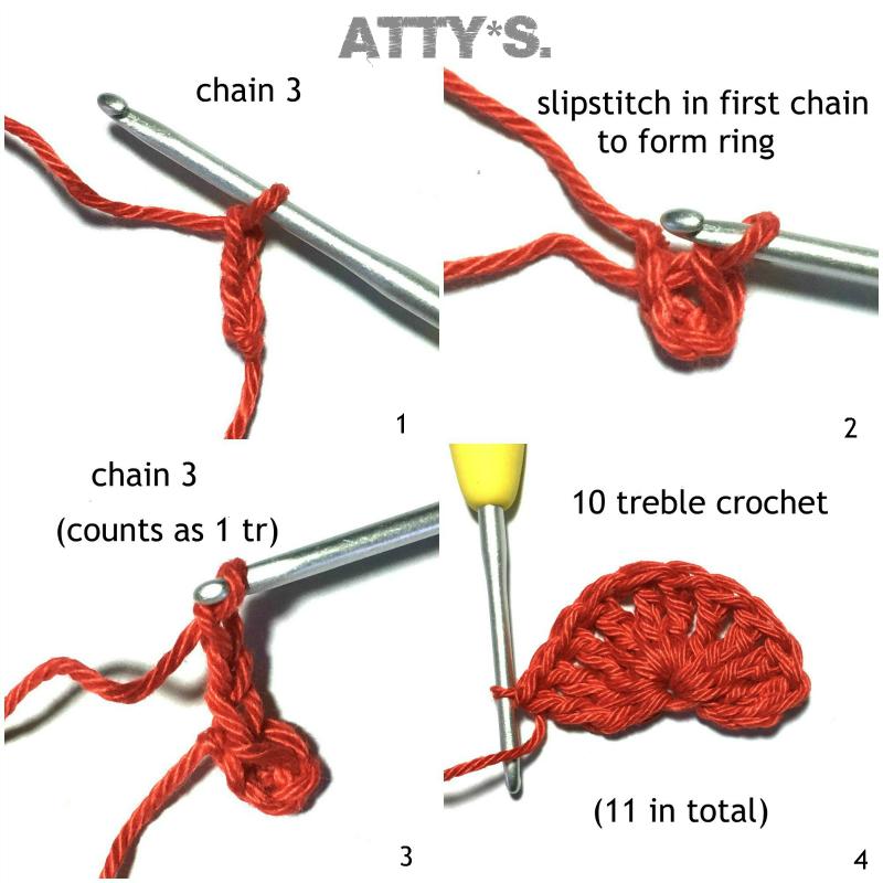 Attys Free Christmas Bell Crochet Pattern