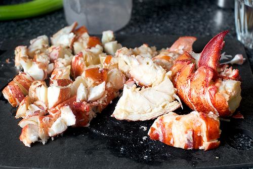 Salata de homari cu cartofi - Livrari la domiciliu Bucuresti / Catering Mari Cuisine Bucuresti