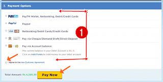 Hostgator payment method