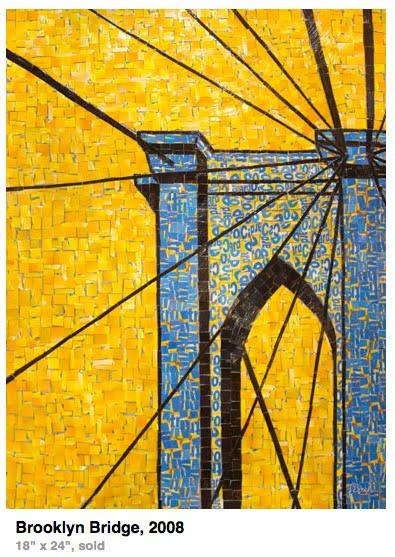 brooklyn bridge art