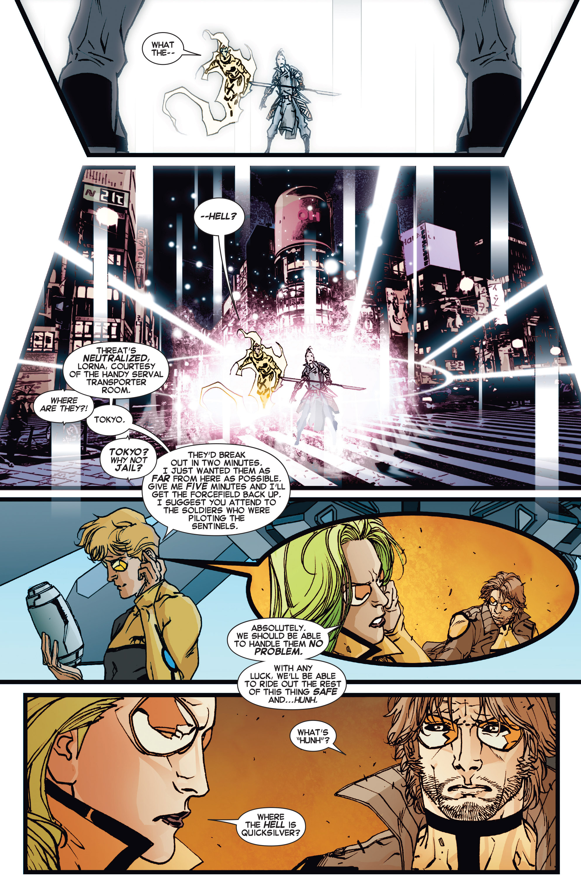 Read online All-New X-Factor comic -  Issue #17 - 21