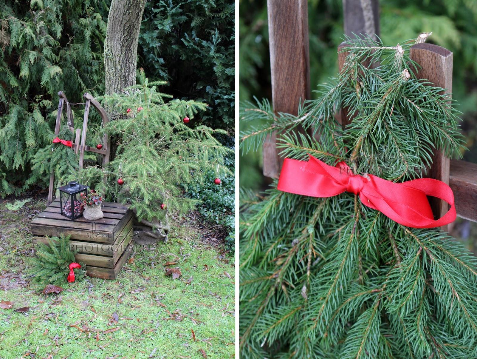 Silentforce Garden Weihnachtsdeko Im Garten Weihnachtliche Diy Idee