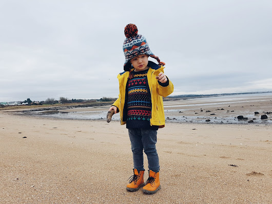 Worn By Osian - The Winter Beach Walk Edition