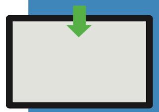 swipe dall'alto Come usare la gesture in Windows 10