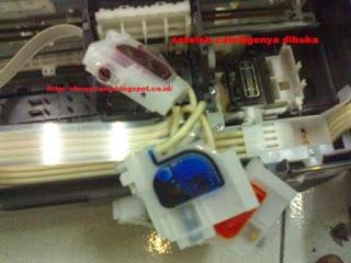 Memperbaiki Epson L110 Tidak Keluar Tinta