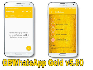 GBWhatsApp v5.80 Golden Edition