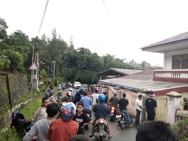 Boncengan Motor 4 orang, Siswa smp 8 Sungai Penuh Berakhir tragis.