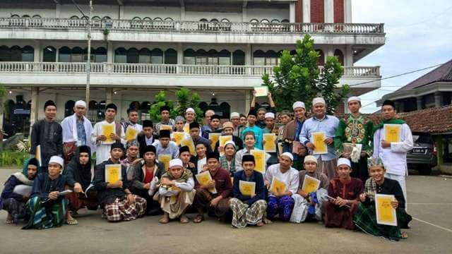 Diklat (Pendidikan kilat) Ushuludin Angkatan ke-54 Tahun 2016 M / 1437, Pondok Pesantren Miftahul Huda Manonjaya Tasikmalaya, Jawa Barat.