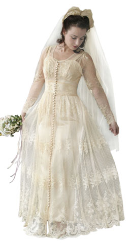 Allie 39 s wedding dress in the notebook insured fashion for The notebook wedding dress
