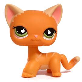 Littlest Pet Shop 3-pack Scenery Cat Shorthair (#525) Pet