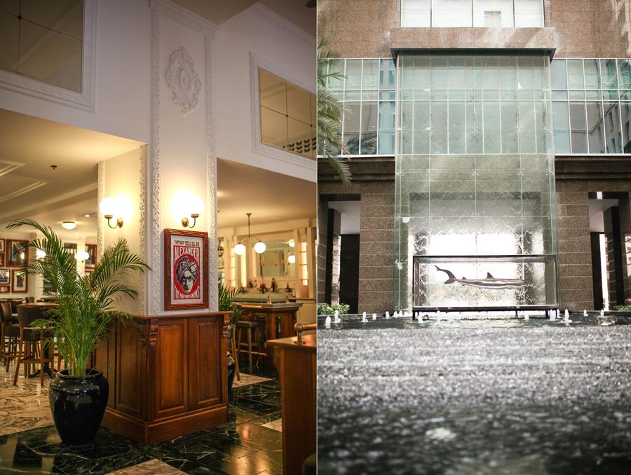 hotel lobby shark uae  mbf_dubai
