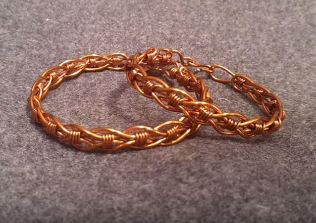Innovative Wire Wred Bracelet Tutorial The Beading