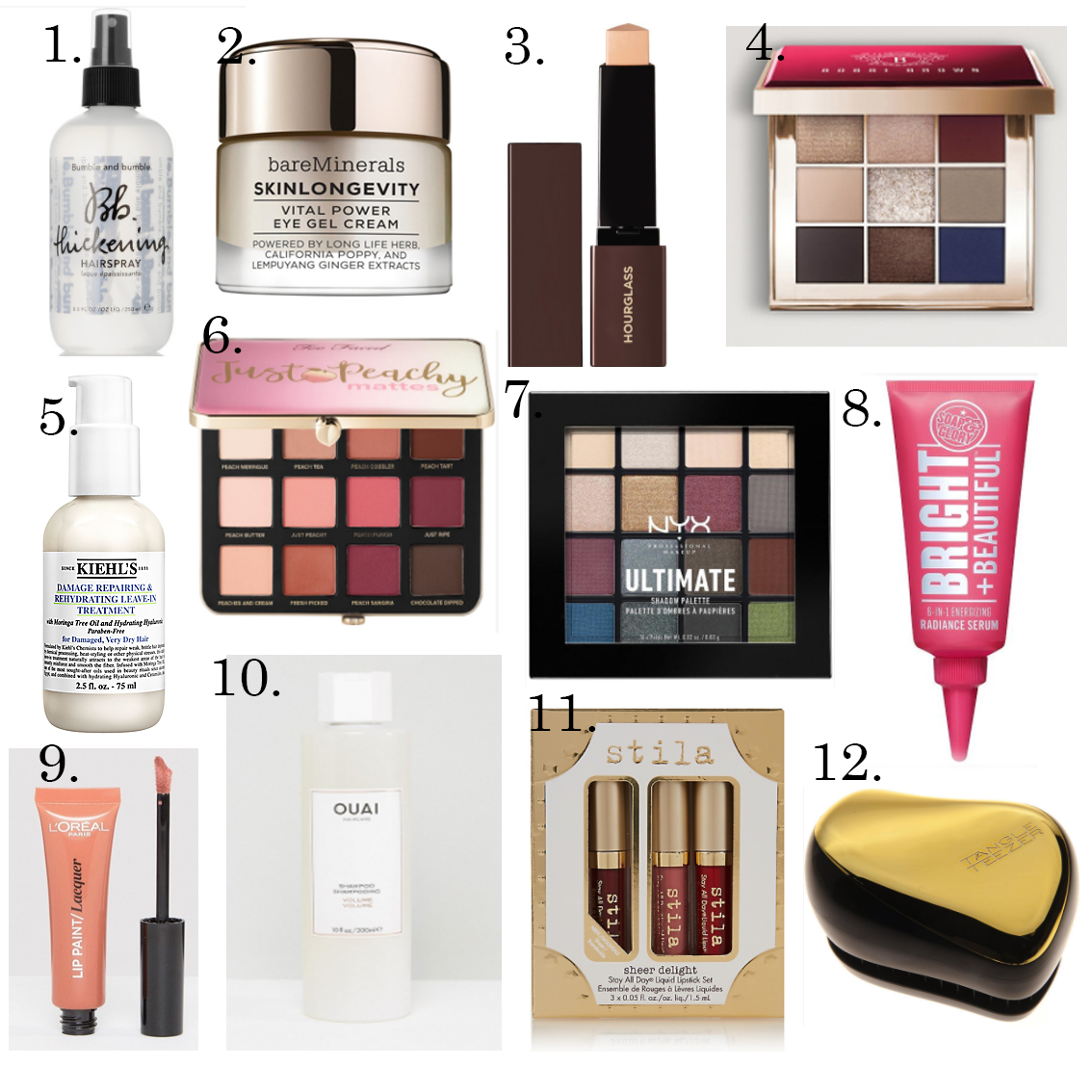 A Beauty Wishlist
