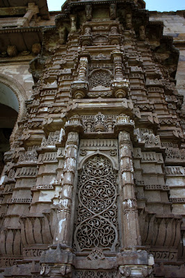 mosques together with wells stand upwardly to tell tales of a fourth dimension when Champaner was the uppercase of the Guj IndiaTravel; Time Travel: Champaner, Gujarat.
