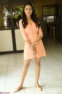 Rukshar Mir in a Peachy Deep Neck Short Dress 131.JPG
