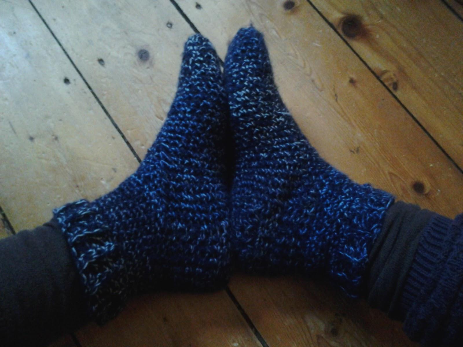 Loewenzahm Dicke Socken Häkeln