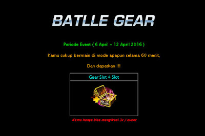 Event Lost Saga Indonesia Terbaru April 2016