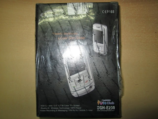 hape jadul Samsung SGH-E250