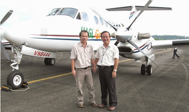 chiếc Beechcraft King Air 350