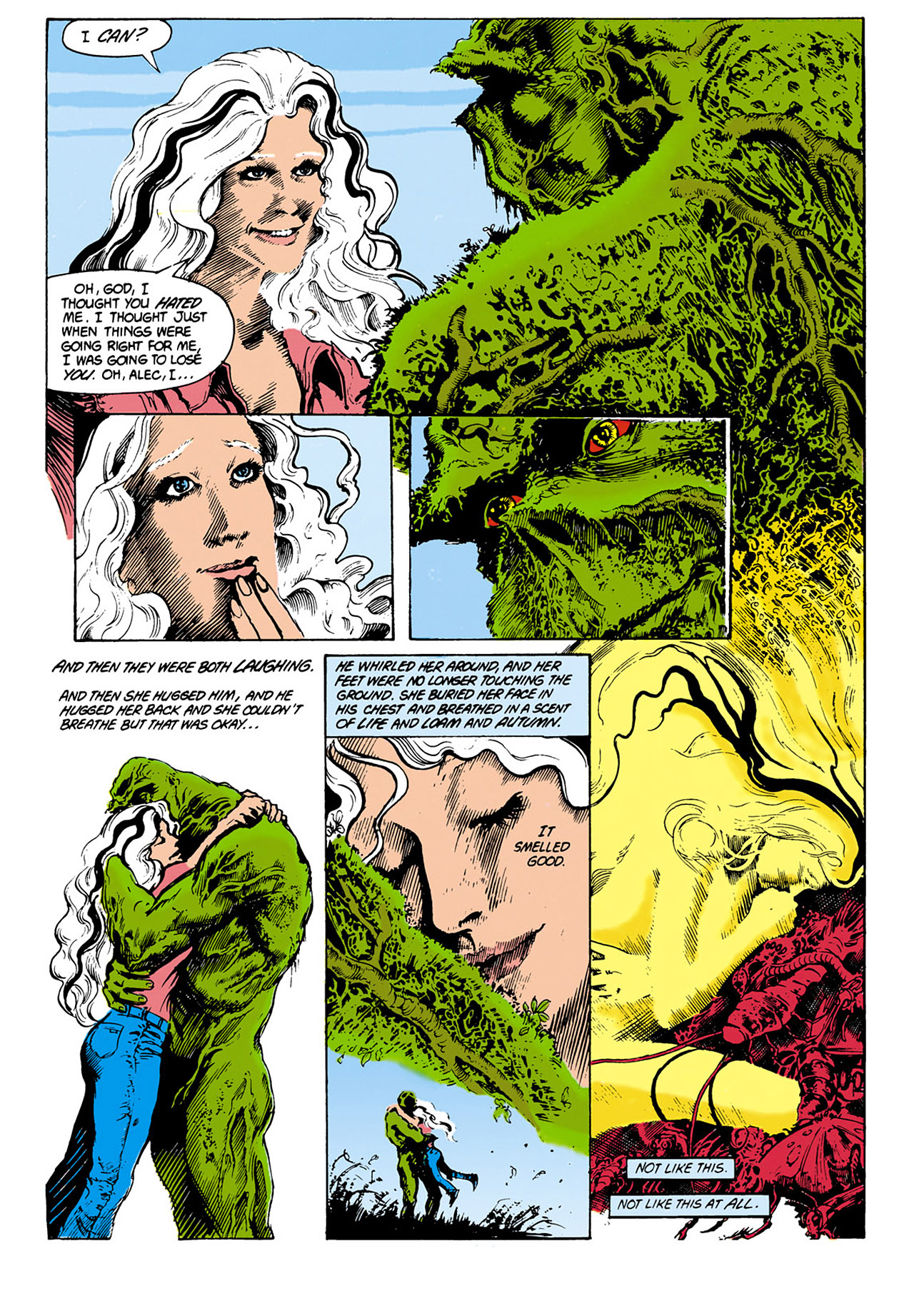 Swamp Thing (1982) Issue #29 #37 - English 5