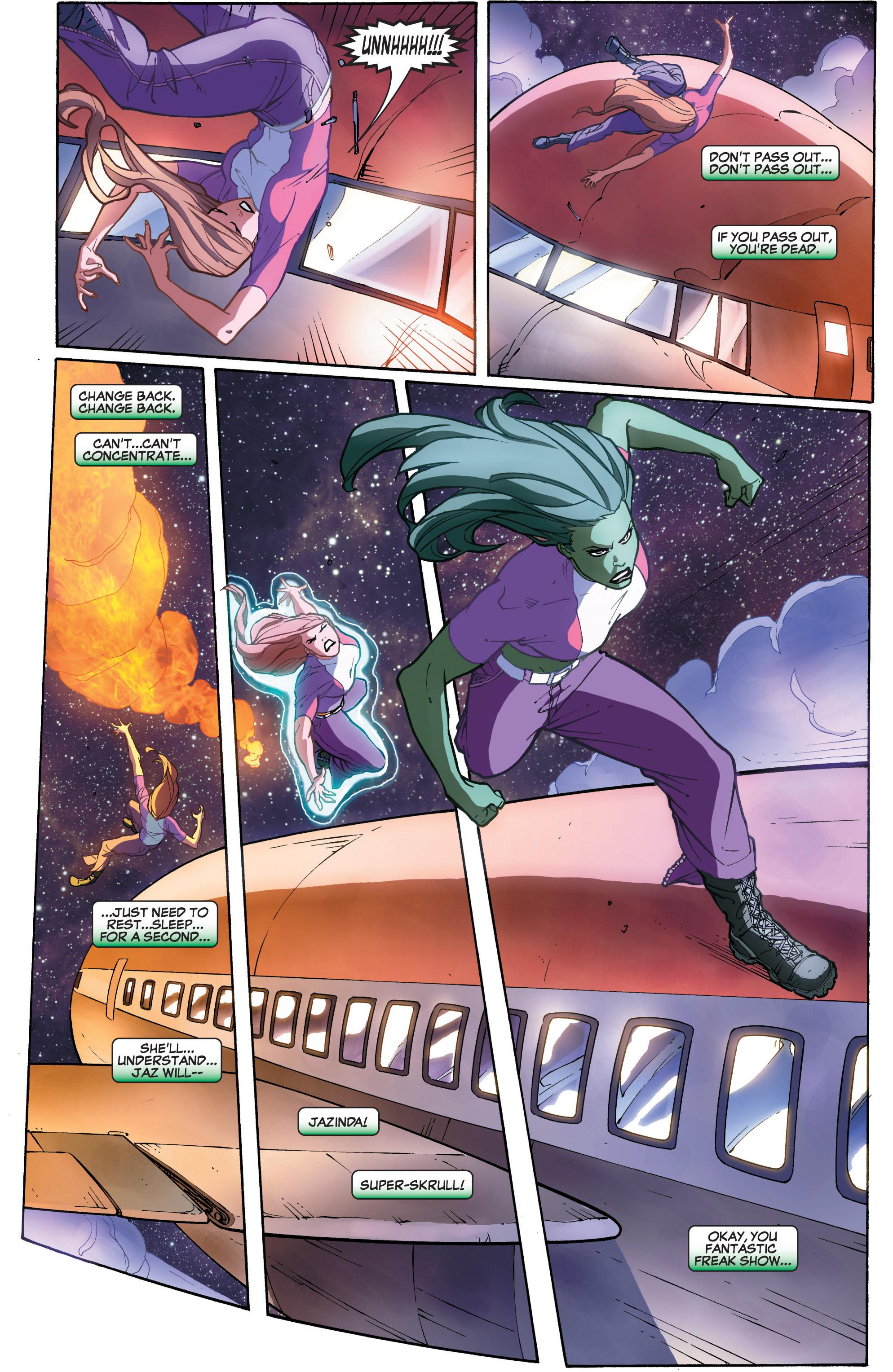 Read online She-Hulk (2005) comic -  Issue #33 - 5