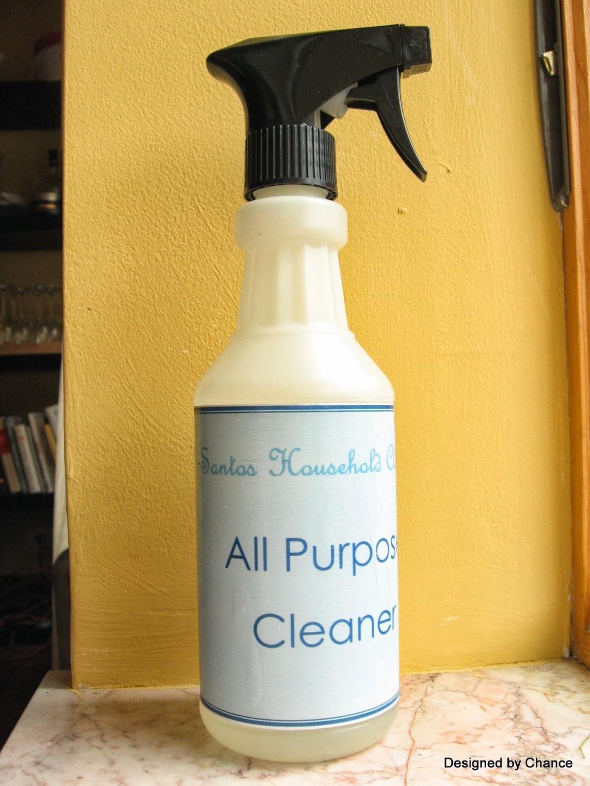 Designed By Chance Natural Cleaning Products