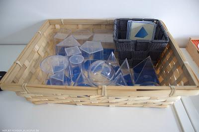 Montessori Material Geometrische Körper