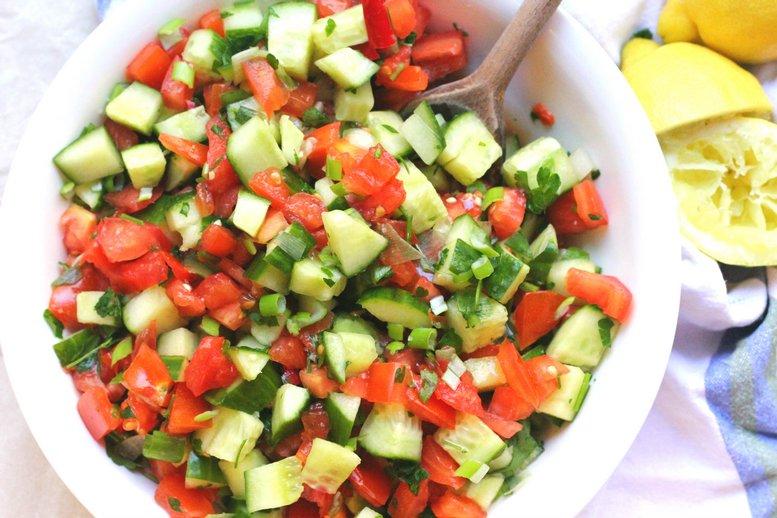 Греческий салат: классический рецепт с оригинальной подачей