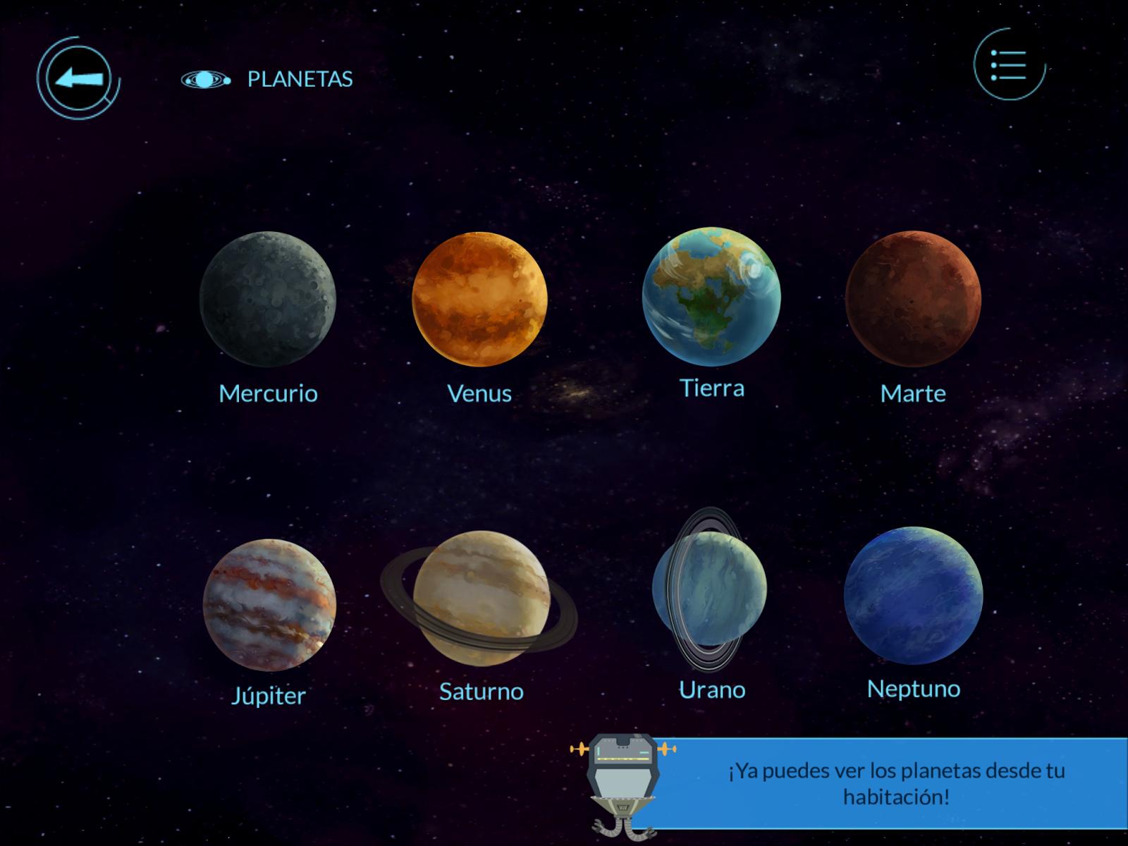 El Sistema Solar en Realidad Aumentada con Arloon Solar ...
