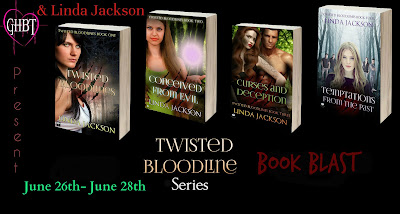 Book Blast! Twisted Bloodline Series by Linda Jackson