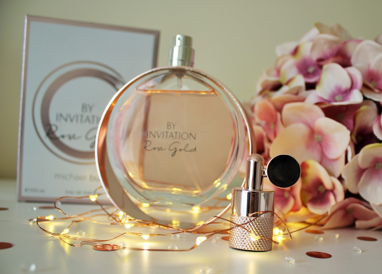 Michael Buble By Invitation Rose Gold Perfume Review - 6